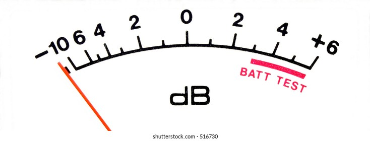 DB sound meter scale tight