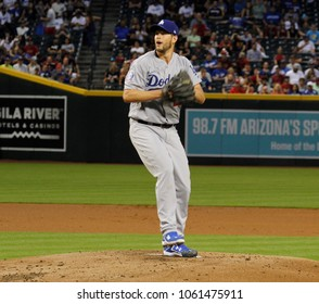 D-Backs- Clayton Kershaw pitcher for the Los Angles Dodgers at Chase Field in Phoenix,AZ USA June 3,2018.
