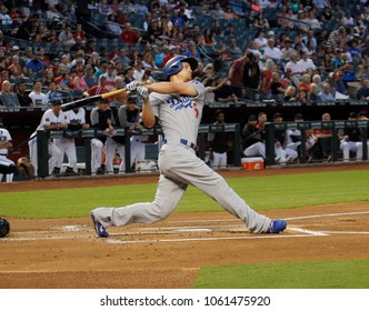 D-Backs- Corey Seager shortstop for the Los Angles Dodgers at Chase Field in Phoenix,AZ USA June 3,2018.