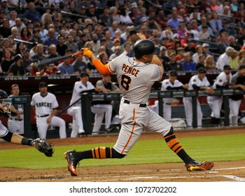 D Backs Hunter Pence Outfielder For The San Francisco Giants At Chase Field In