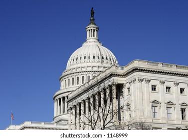 DC Capitol Building side view
