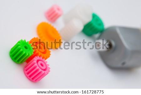 DC Motor Gears Stock Photo (Edit Now) 161728775 - Shutterstock