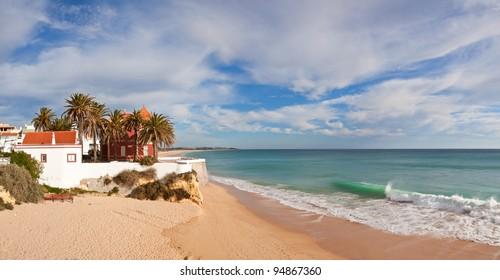 Armação de Pêra beach, Algarve, Portugal