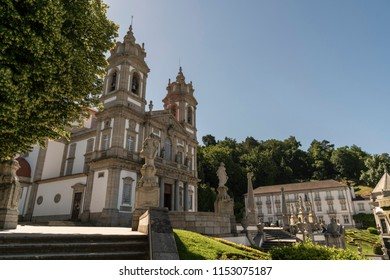 Sé de Braga, Portugal's oldest cathedral, located in the city of Braga .