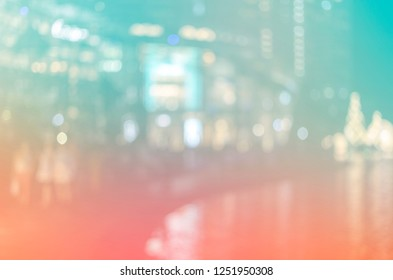 de focused bokeh light, abstract points pattern background