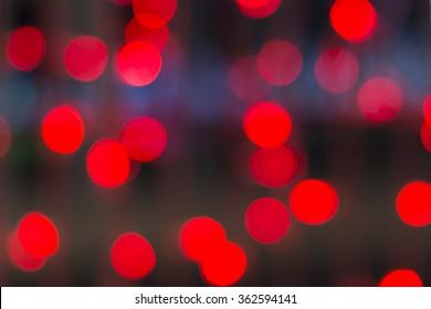 de focused red light background