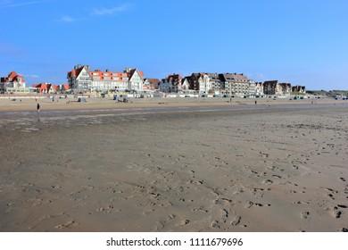 De Haan. North Sea, Belgium, Europe.