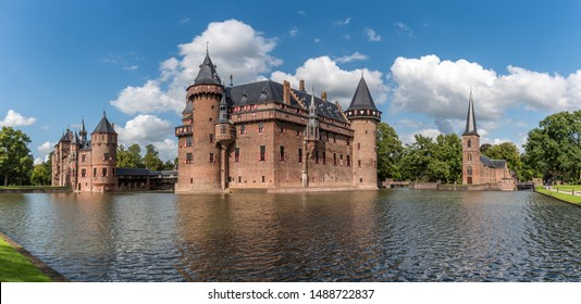 De Haar Castle (Dutch: Kasteel de Haar). This castle is located in Utrecht, The Netherlands.
