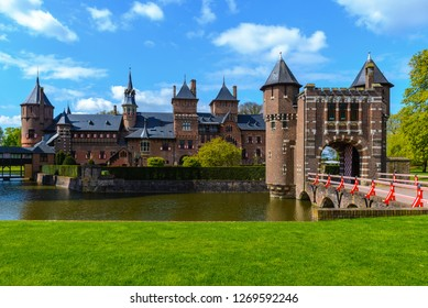 De Haar Castle near Utrecht, The Netherlands