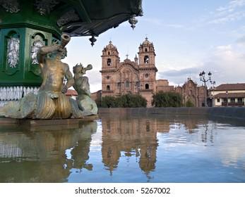 Compañia de Jesus church, Cuzco, Peru