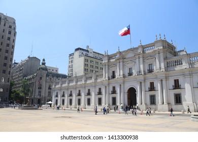 Palácio de La Moneda Santiago Chile