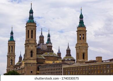 Basílica de Nuestra Señora del Pilar (Cathedral of Zaragoza, Spain)