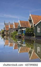 De Rijp is a Dutch village with typical Zaan style timbered houses