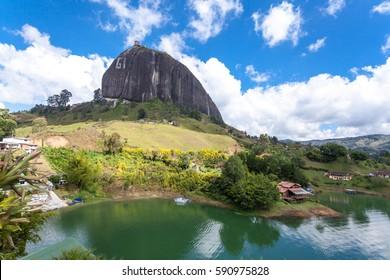 Peñón de Guatapé ,The Rock of Guatapé