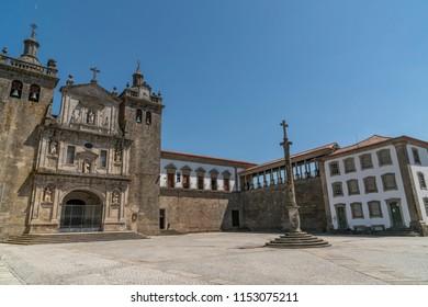 Sé de Viseu old church in the city of Viseu, Portugal.