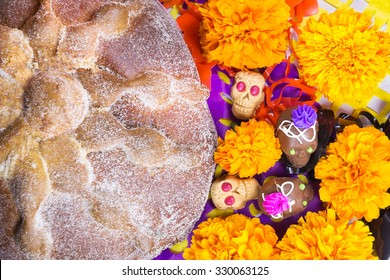 Dead bread and candy skulls