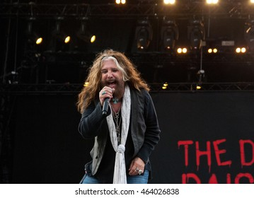 "Dead Daisies in concert, public-event on the ""Hessentag"" in the city ""Herborn"", Germany on May 29, 2016"
