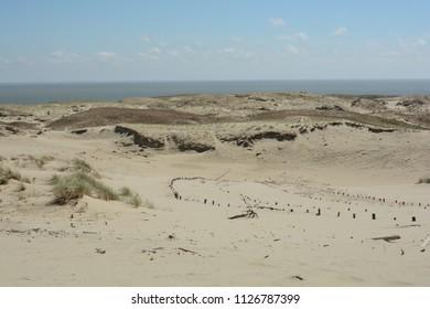 Dead dunes, Nida, Lithuania, Europe