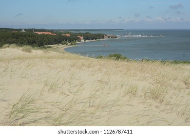 Dead dunes at Nida town, Lithuania, Europe