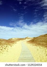 Dead dunes, Nida town, Lithuania