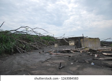 Dead environment caused by merapi volcano eruption