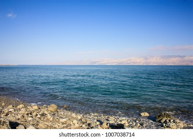 Dead sea landscape in Israel