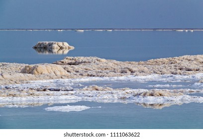 Dead Sea salt formations may be different forms .Dead Sea has a salinity which is 8 times saltier than the ocean. Israel