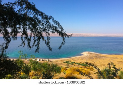 Dead Sea is a salty lake in Jordan, it located on the lowest point on the earth's surface.