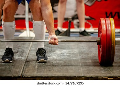deadlift powerlifting competition powerlifter to perform attempt