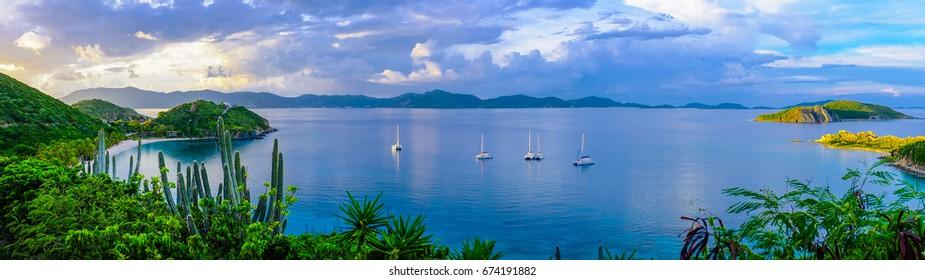 Deadman's Bay at Peter Island, British Virgin Islands
