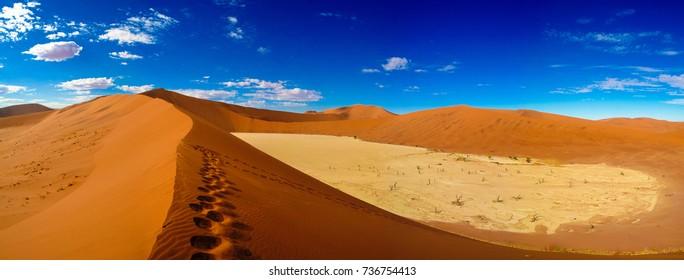 Deadvlei in Namib-Naukluft national park Sossusvlei in Namibia