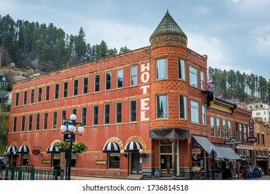 Deadwood, SD, USA - May 30, 2019: The Fairmont Hotel