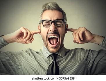 Deaf businessman