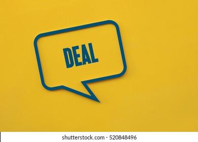 Deal, Business Concept