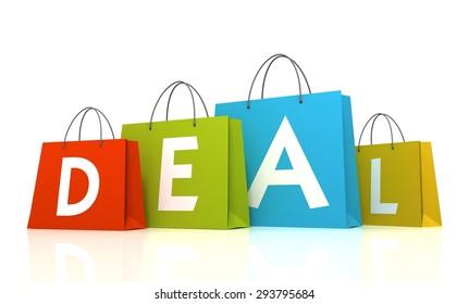 deal shopping bags