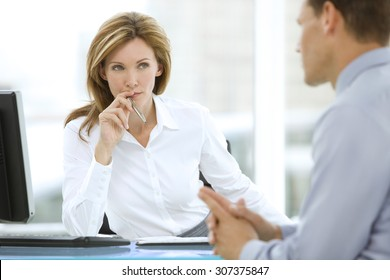 Dealing with a financial adviser