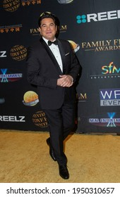 Dean Cain arrives the Family Film Awards held at the Universal Hilton Hotel at Universal Studios Hollywood in Los Angeles, CA on March 24, 2021.
