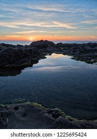 Dean Hollow State Beach. Sunset, California, USA