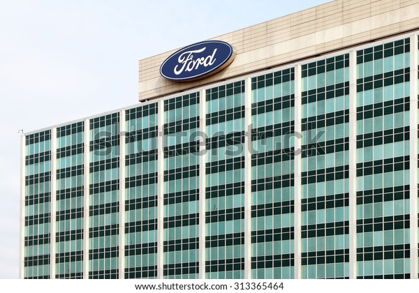 Dearborn Miaugust 2015 Ford Motor Company Stock Photo (Edit