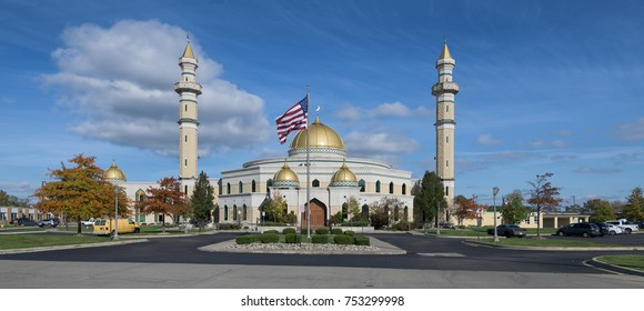 DEARBORN, MICHIGAN - NOVEMBER 3: Islamic Center of America on November 3, 2017 in Dearborn, Michigan