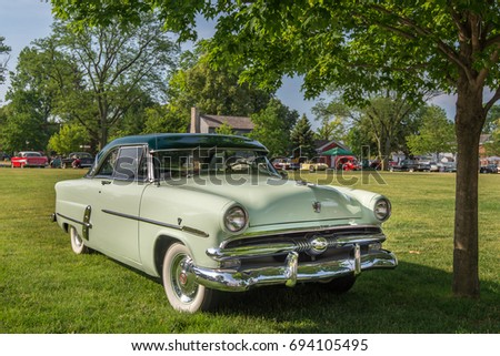 DEARBORN MIUSA JUNE Stock Photo Edit Now - Henry ford car show