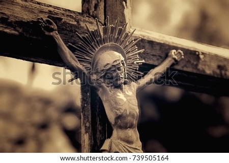 Death Crucifixion Jesus Christ Symbol Resurrection Stock Photo Edit