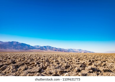 Death Valley, Badwater Basin Salt Flats, California, USA