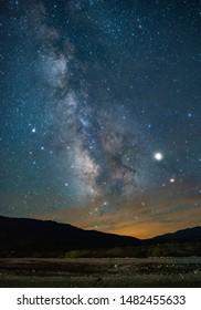 Death Valley Hazy Milky Way