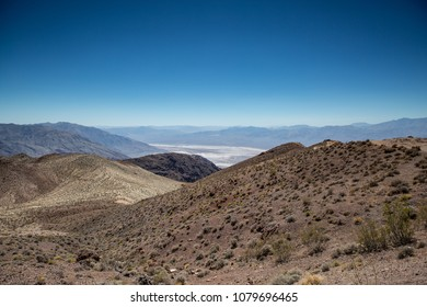 Death Valley National Park california Usa. Picturesque beautiful landscape with heat and great colors in america. road trip vacation with a view to rest after touristic  trip or honey moon travel