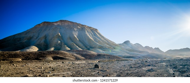 death valley national park hike in california