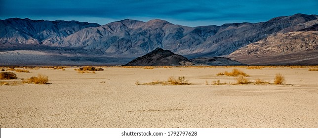 death valley national park on sunny day