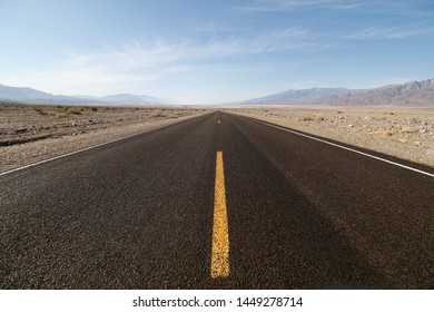 Death Valley National Park roads