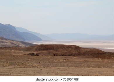 Death Valley National Park, US National Park, California, June 20, 2017, Badwater basin