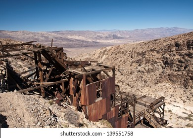 Death valley old gold mine